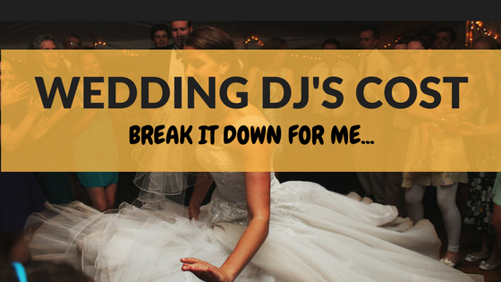 The Average Cost Of Wedding Djs - Professional DJ