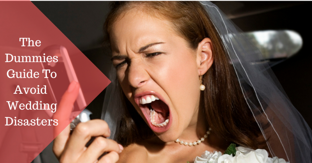 the dummies guide to avoid wedding desasters